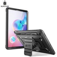 Do etui Galaxy Tab S6 10.5 cala (2019) SM T860/T865/T867 SUPCASE UB Pro wytrzymała obudowa z wbudowanym ochraniaczem ekranu