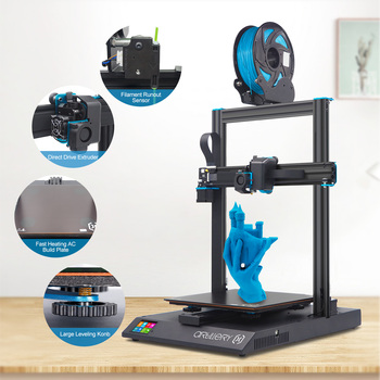 Artillery 3D Printer Kit Sidewinder X1 SW-X1 High Precision Large Plus Size 300*300*400mm Dual Z Axis TFT Touch Screen 3