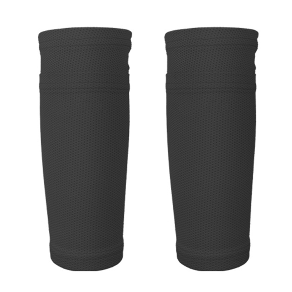 1 Pair Leg Sleeves Shin Guard Socks Legging Calf Pads Kids Teens Adults Soccer Football Protective Gear Breathable Mesh Athlete