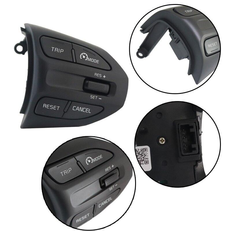 Stuurwiel Cruise Control Knoppen Voor Kia K2 Rio 2017 2018 2019 Rio Bluetooth Telefoon Volume Schakelaar Pookknop Voor auto Onderdelen