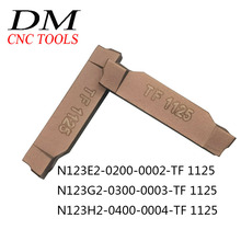 10pcs N123E2 0200 0002 TF 1125/N123G2 0300 0003 TF 1125/N123H2 0400 0004 TF 1125 Cemented carbide external cutting blade