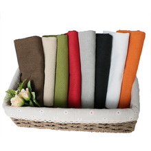 50X50 Set of 12 Pack Serving Napkins Cloth Plates Polyester Fabric Reusable Table Place Mat for Kitchen Towel Dining Wedding