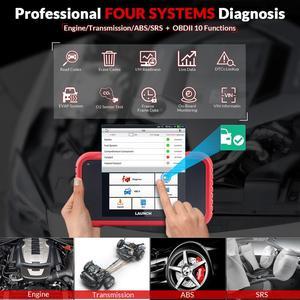 Image 2 - השקת X431 CRP123E OBD2 קוד קורא סורק ENG ABS כרית אוויר SRS שידור רכב כלי אבחון עדכון חינם CRP123 crp123x