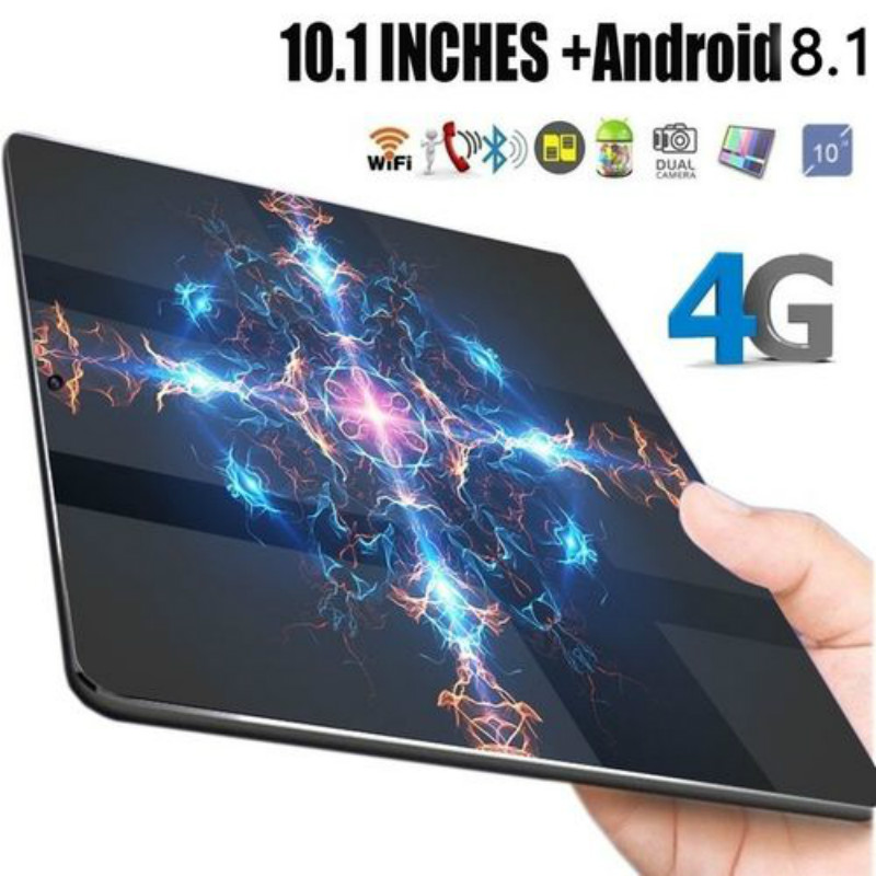 Surprise!!10.1Inch Tablet PC 10 Core 4G Phone Tablet Android 8.1 RAM 6G+128G GPS Ultra Bluetooth With 2Camera 2Sim Wifi Tabblet