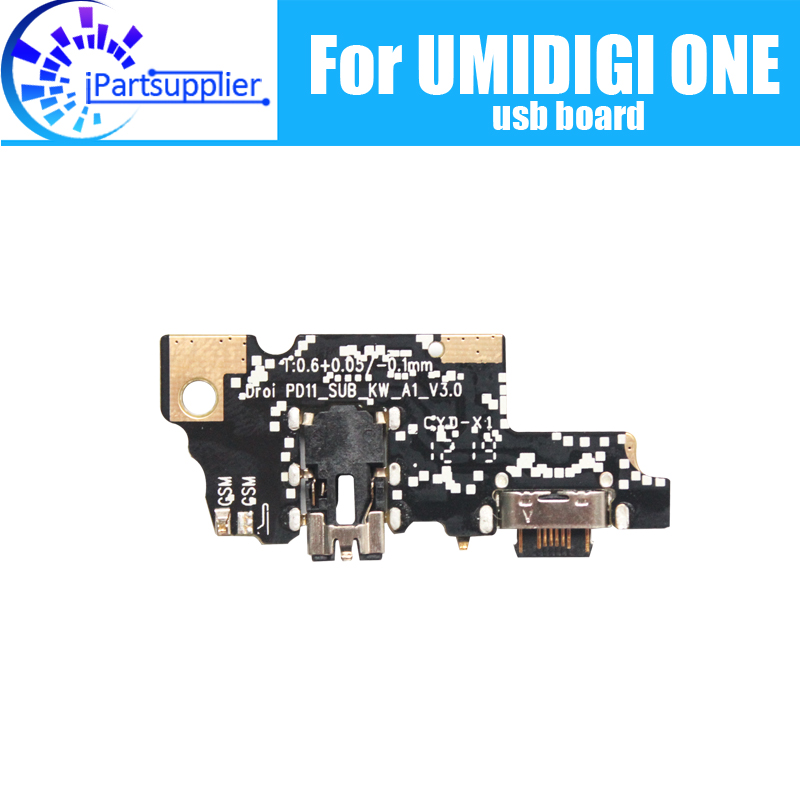 UMIDIGI ONE Usb Board 100% Original New For Usb Plug Charge Board Replacement Accessories For UMIDIGI ONE