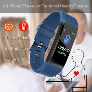 Image 3 - 115plus Bracelet Heart Rate Blood Pressure Smart Band Fitness Tracker Smartband Bluetooth Wristband fitbits Smart Watch Men