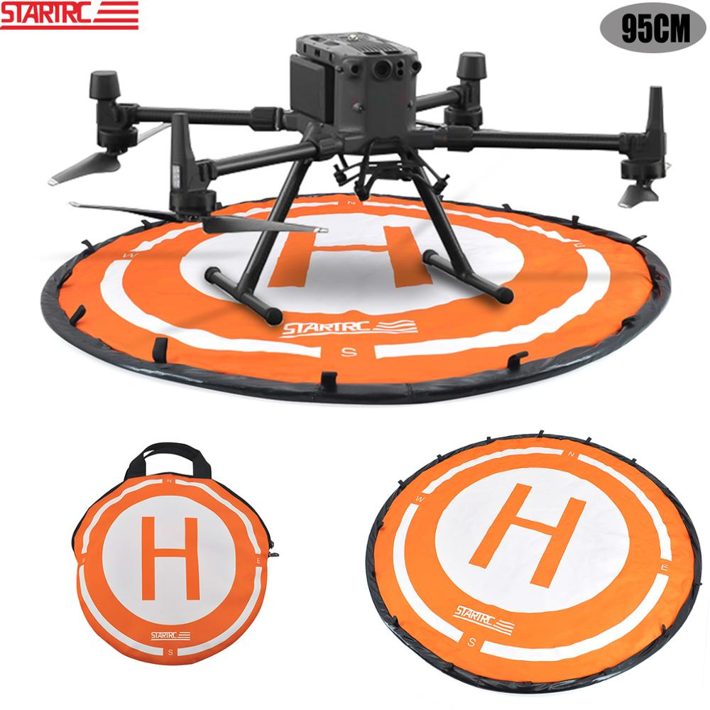 STARTRC 95CM Landing Pad Foldable Pad For Large Airplane Model For DJI Drone M300 RTK Inspire 2 M200 Runner 250 Quadcopter|Drone Accessories Kits| - AliExpress