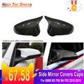 Для BMW M3 F80 M4 F82 2015-2018 Крышка для зеркала из углеродного волокна  1 пара чехлов для бокового зеркала