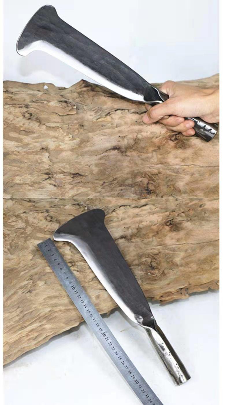 Yangjiang mão forjamento cortar madeira árvore faca