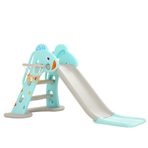 1122 Quality Indoor Children's Small Slide Environment PE 1-6 Years Old Baby Up And Down Playground Kindergarten Foldable Slide