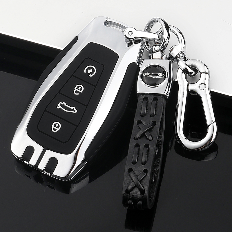 Car Key Cover Case Full Covers Galvanized Alloy For Geely Coolray 2019-2020 Emgrand X7 EX7 SUV GT GC9 Borui Atlas Boyue NL3