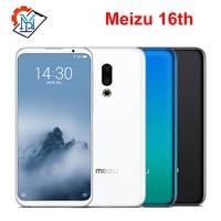 Original Meizu 16th Mobile Phone 6.0 Super AMOLED 6GB RAM 64GB ROM Snapdragon845 Octa Core Front 20MP Fingerprint Smartphone