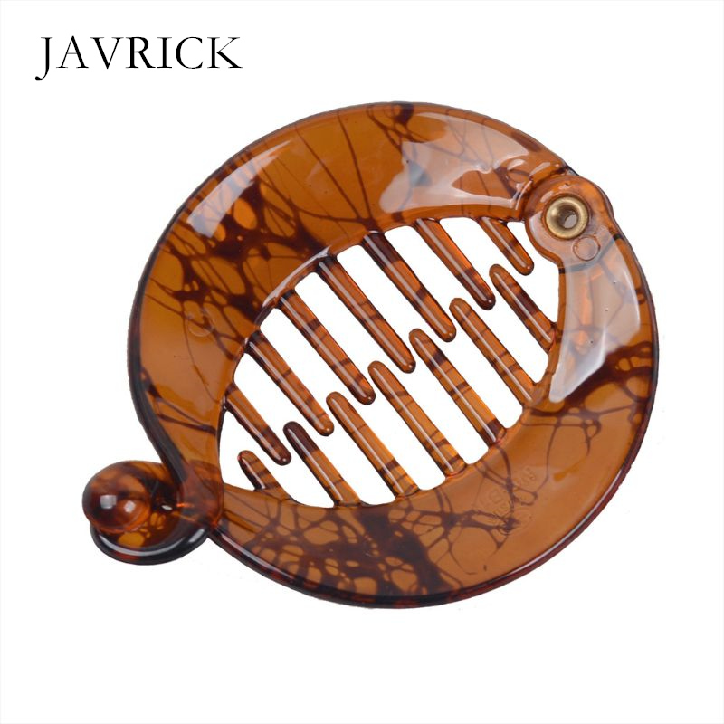 Acrylic Fish Banana Jaw Clips For Thick Hair Non-slip Hair Claw Clip Women Lady Personality