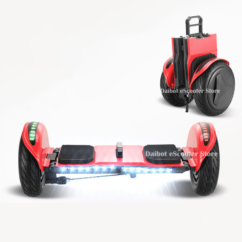 Daibot Off Road Electric Scooter Foldable 2 Wheels Self Balancing Scooters Double Drive 250W 36V Hoverboard Skateboard Bluetooth (15)