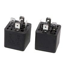 цена на 2Pcs SLD-12VDC-1C 1.6W High Power Relay NO 40A NC 30A 5pin Automotive Relay