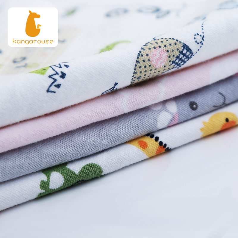 Kangarouse Baby Bibs 100% cotton baby scarf Burp Cloth drooling  Bandana Bib Newborn Baby Boy Infant Girl Toddler stuff 5
