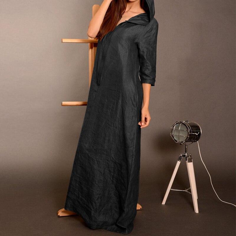 manga longa com capuz casual plus size