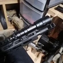 Surefire – M600 M300 lampes ARISAKA m-lok, support de Scout latéral pour pistolet jouet Gel Blaster Airsoft AEG BCM MK4 MK8 MK16 SMR SLR Rail