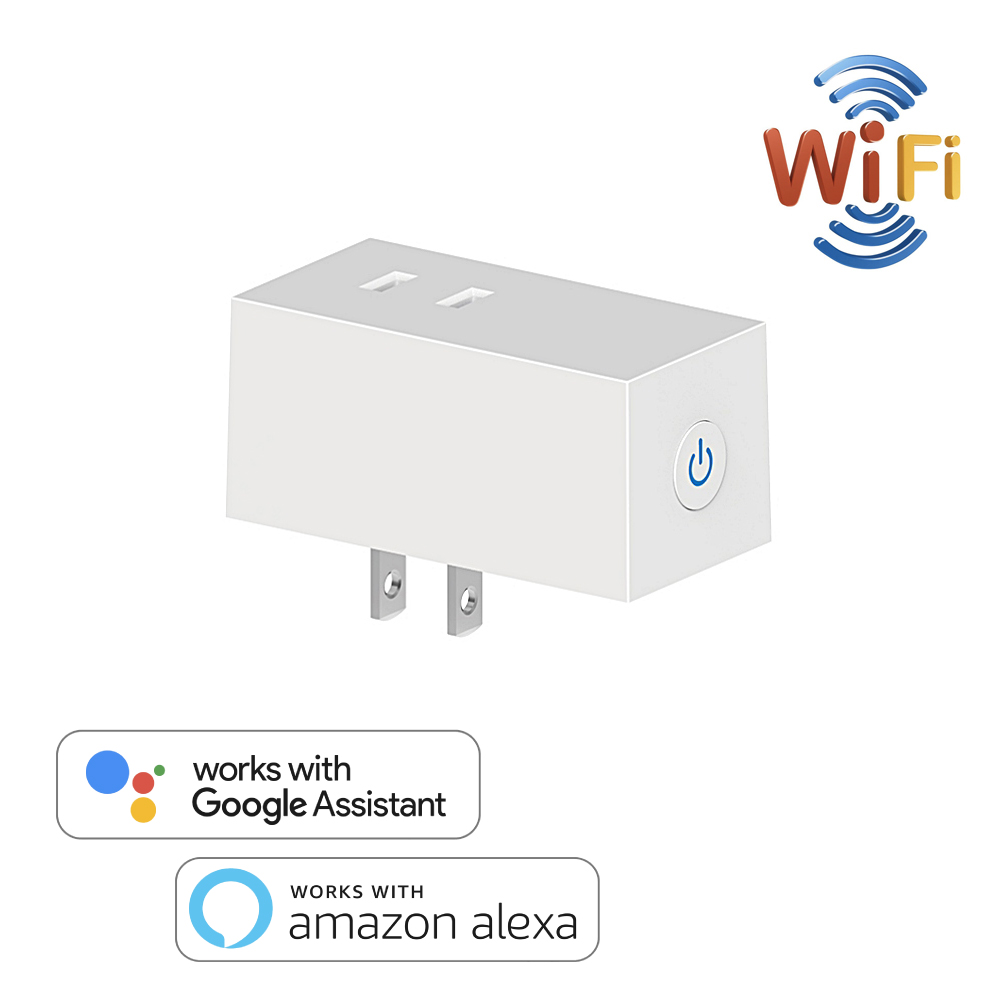 Japan WiFi Switch Socket Plug JP Wireless Extender Remote Outlet Adaptor Smart Home Automation Alexa Google Compatible