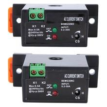 Normally Open/Normally Closed Current Sensing Switch Flameproof Adjustable AC 0.2~30A Self-Powered Sensor Swtich BEMG30NO/NC