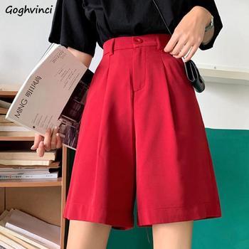 Pantalones Mujer cintura elástica estilo coreano 5XL de talla grande ajustado clásico hasta la rodilla pantalones de pierna ancha Oficina señoras elegante mujer