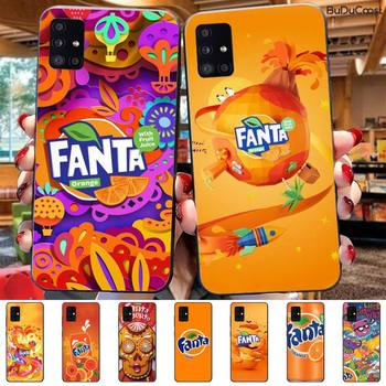 Slok Fanta Drink Orange Soft Phone Case Cover For Samsung Galaxy A70 A50 A30 A10 image