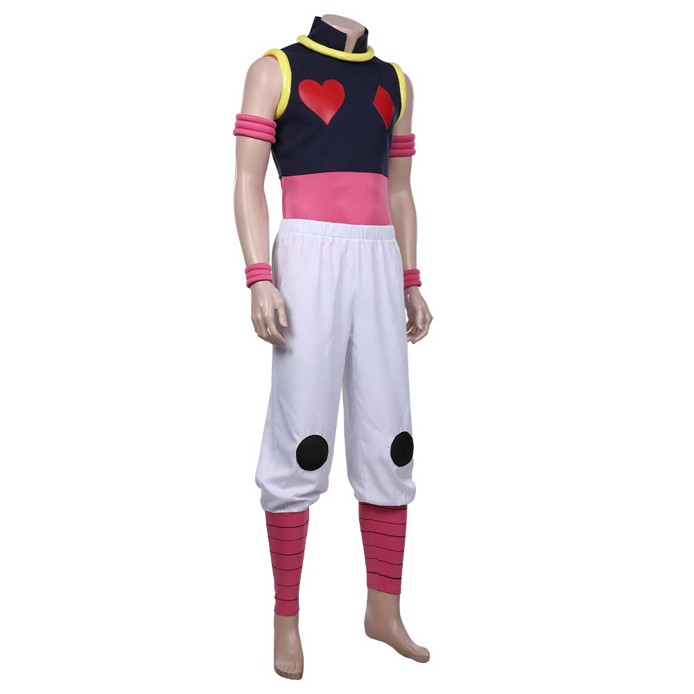 Details about  /Hunter x Hunter Hisoka Cosplay Costume Top Pants Outfits Halloween Carnival Suit