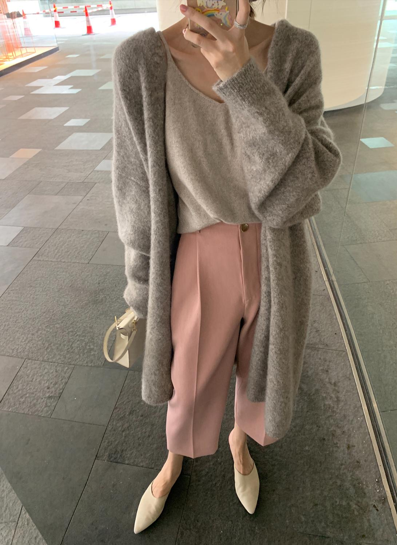 Elegant Cashmere Sweater thick long warm Cardigan Women Winter Coat Knitted Fashion Sweaters  Cardigan