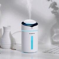 320 ml seguro mini usb umidificador de ar com luzes da noite aromaterapia óleo aroma difusor névoa maker para carro casa presente natal|Umidificadores| |  -