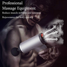 Massage Gun Electric Deep  Therapy Massager  Vibration Gun Exercising  Muscle Relaxation  Pain Relief  Slimming  Body Shaping