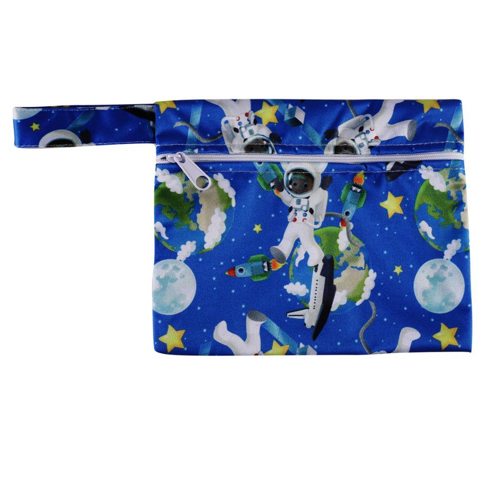 Mini Diaper Bag Baby Cloth Diaper Wet Bag Waterproof Bags Reusable Diaper Bags MSW20