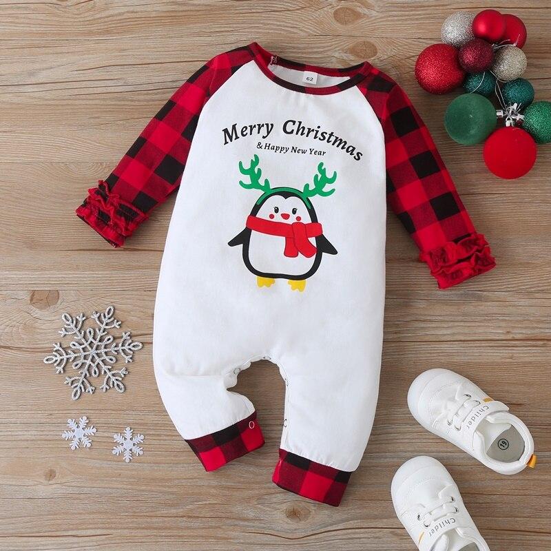 Новая детская одежда на Рождество для маленьких девочек милый