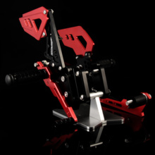 Rearsets Rear Set Foot Pegs Pedal for Motocycle Adjustable Moto Pedal Footrest Footpegs Fashion Pegs GSXR 600 GSXR 750 2006-2010 tama hp600dtw iron cobra 600 twin pedal