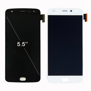 Image 2 - ספינה מהירה במלאי LCD תצוגה עבור מוטורולה Moto Z2 לשחק XT1710 01/07/08/10 מסך מגע Digitizer 5.5 אינץ 1920*1080 הרכבה