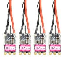 Hglrc 30a 30amp 2-5s blheli_s 16.5 bb2 brushless esc dshot600 pronto para fpv racing zangão quadcopter peças de reposição rc