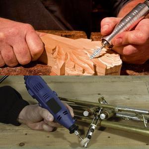 Image 5 - シャープロータリー dremel ドリル工具アタッチメントため、木材金属彫刻研削ポリッシュ切断回転工具アクセサリー