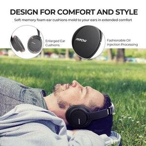 Image 5 - Mpow H7 Pro bezprzewodowe słuchawki Bluetooth 5.0 Hi Fi Stereo dźwięki wsparcie szybkie ładowanie 20H czas odtwarzania dla iPhone 11 Huawei P30 Lite
