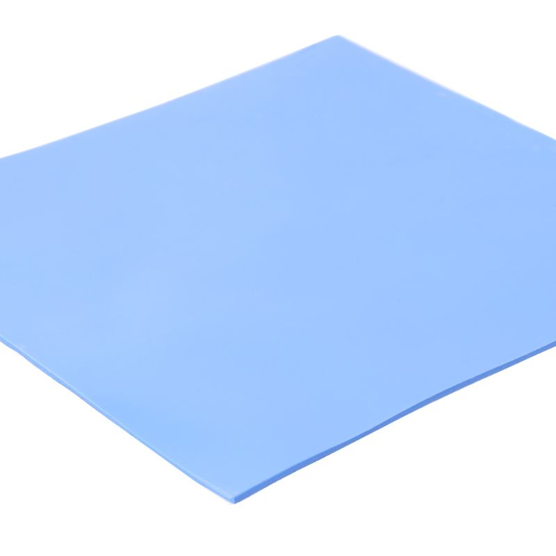 Silicone Pad 1Sheet 100mmx100mmx1mm Thermal Pad <font><b>GPU</b></font> CPU Heatsink Cooling Conductive Silicone Pad for PC Computer Accessories image