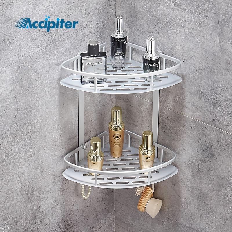 Bathroom Shelf Shower Shampoo Soap Cosmetic Shelves Bathroom Accessories Storage Organizer Rack Holder