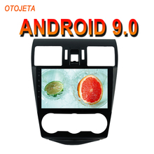Oojeta Android 9,0 2.5D Pantalla de coche reproductor de Radio para SUBARU Forester 2013-15 bluetooth Estéreo GPS Navi grabadora de cinta