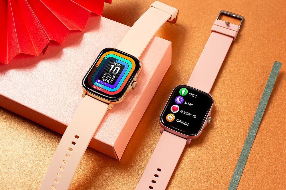 H056885daacb240489607537fca98c792G COLMI P8 Plus 1.69 inch 2021 Smart Watch Men Full Touch Fitness Tracker IP67 waterproof Women GTS 2 Smartwatch for Xiaomi phone