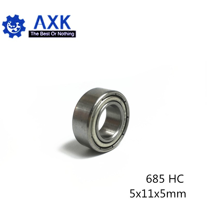 Si3N4 Balls 1 PC 685 ZZ Hybrid Ceramic Bearing 5*11*5 mm ABEC-1
