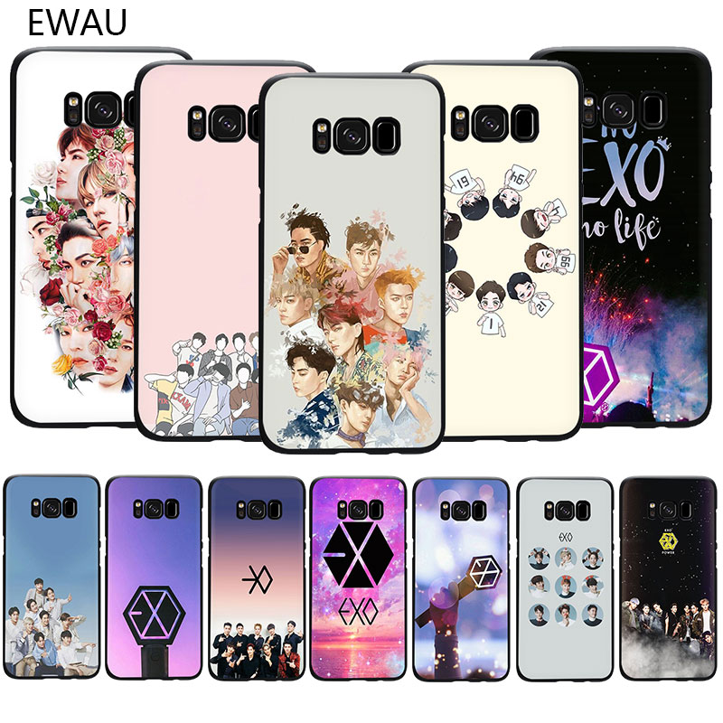 EXO band k-pop kpop Мягкий ТПУ чехол для телефона Samsung S6 S7 Edge S8 S9 S10 Plus S10e Note 8 9 10 M10 M20 M30