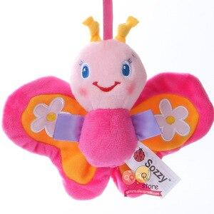 Image 4 - Baby Rammelaar Speelgoed Pluche Kinderwagen Opknoping Bell Ring Mobiles Infant Baby Zachte Crib Kids Educatief Speelgoed Voor Kinderen Gift Sozzy