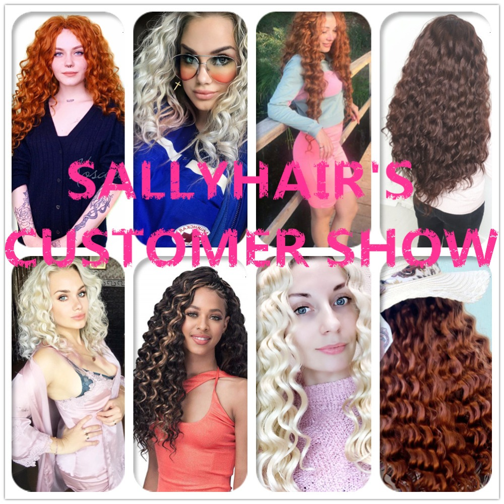 sallyhair deep crochet braids hair extensions Bulk hair_logo