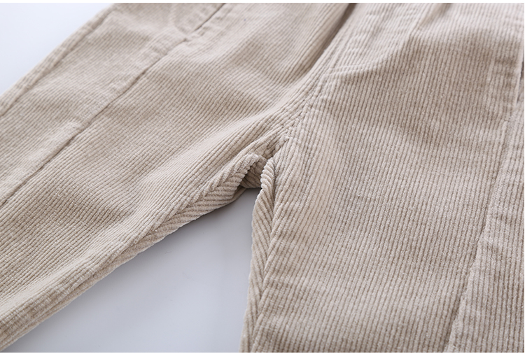 2020 Hot Sell Children Corduroy Trousers Boys Girls Long Cotton Trousers Spring Autumn Casual Pants Girls Kids Crawlers Clothing 6