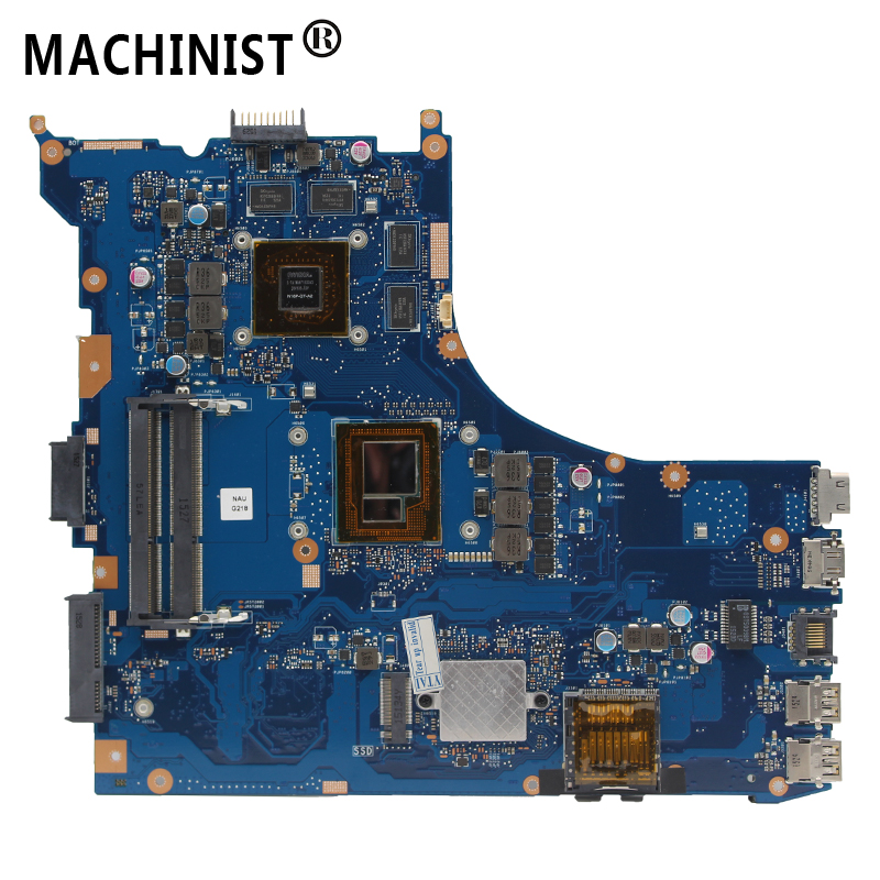 Original For ASUS GL552JX ZX50J GL552J GL552 Laptop Motherboard MB REV:2.0 I7-4720HQ GTX950M/2G 100% Fully Tested