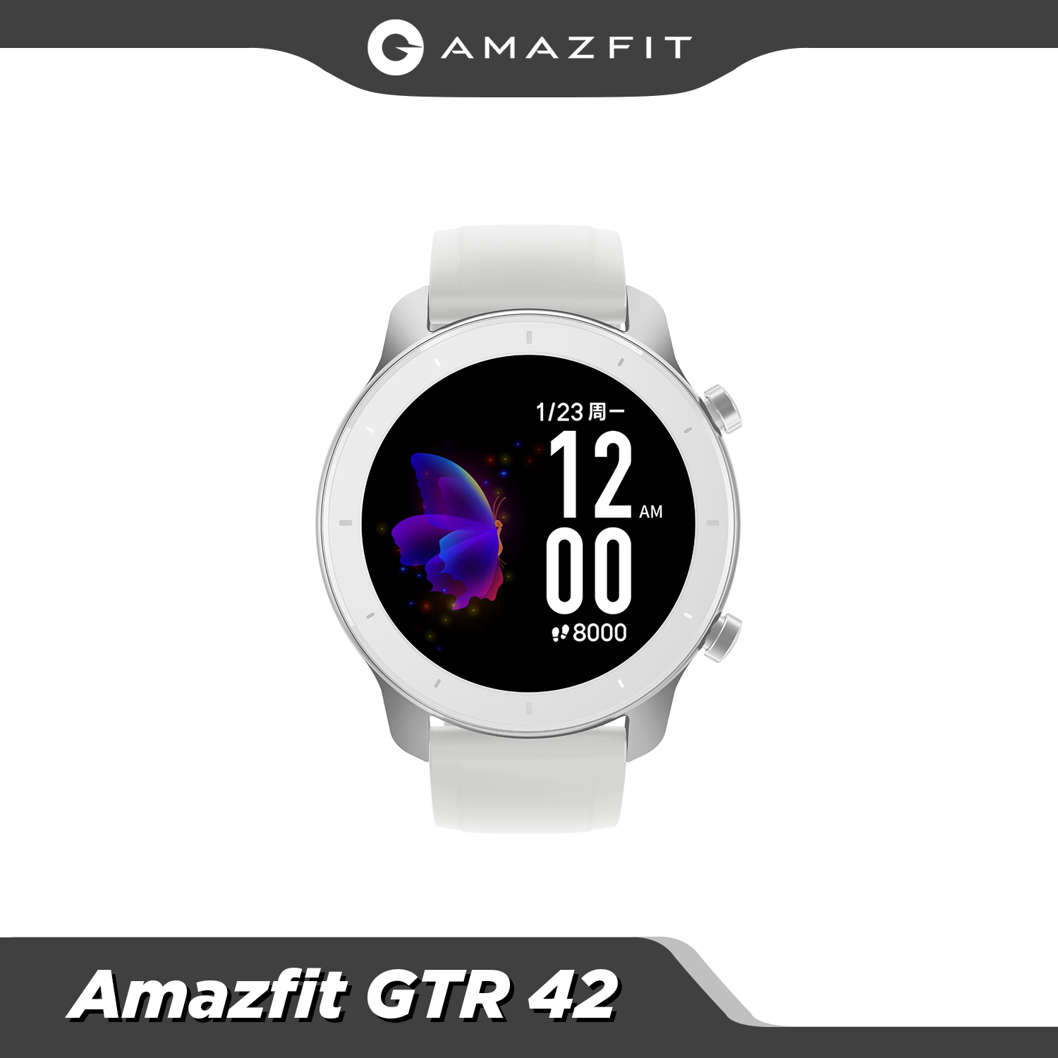 Permalink to 【24h ship】Global New Amazfit GTR 42mm Smart Watch 5ATM waterproof Smartwatch 12 Days Battery Music Control For Android IOS