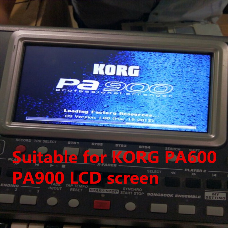 For KORG PA600 PA900 LCD Screen Display Touch Screen Galss Free Shipping