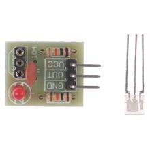 5V moduł czujnika laserowego non-modulator Tube moduł odbiornika laserowego DIY dla Arduino 1 52*2 22cm tanie tanio ZLinKJ Elektryczne Laser Sensor Module